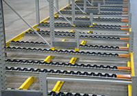 Shelf Master Pallet Flow Racking System
