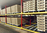 Shelf Master Pallet Flow System